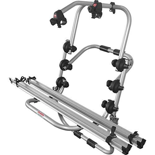 Fabbri BM01FA0023 - PORTABICI Posteriore in Alluminio Modello Bici Ok 2 per 2 Biciclette