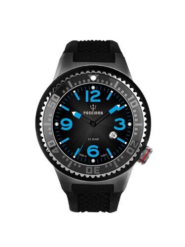 Kienzle Unisex-Armbanduhr POSEIDON S Analog Quarz Silikon K2103053103-00421