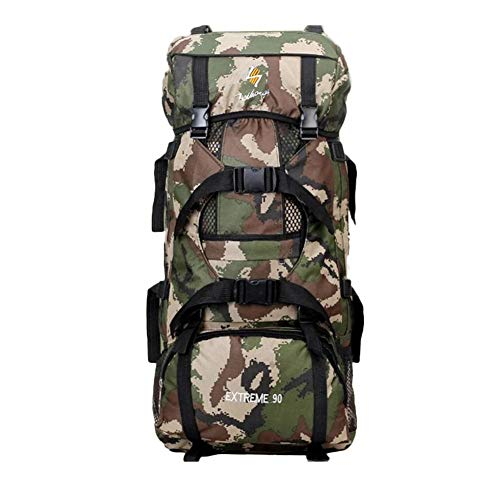 Winterjoys Outdoor Mountaineering Bag, 90L Outdoor Travel...