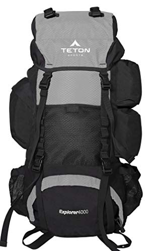 TETON Sports Explorer 4000 Internal Frame, High-Performance Backpack