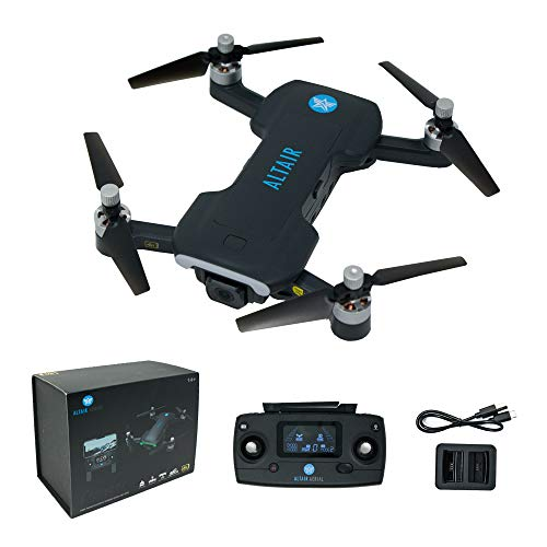 Product Image 1: Altair Aerial Dagger Foldable GPS Drone with 4K UHD Camera for Adults, 5G Compatible, Brushless Motors, Optical Flow Stabilization System, Auto Return, Weighs Less than 0.55 lbs (Lincoln, NE Company)