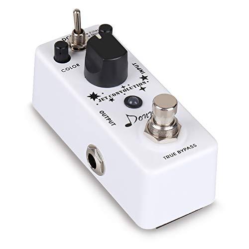 Donner® Jet Convolution Flanger Guitar Effect Pedal, Vibration Rumbling Noise Effect