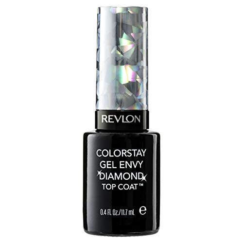 Revlon ColorStay Gel Envy Longwear Nail Enamel, Chip Resistant Diamond Top Coat Nail Polish with Shine, 0.4 fl oz