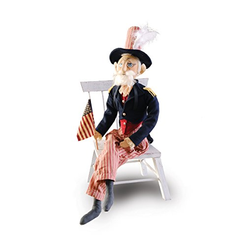 GALLERIE II Uncle Sam Joe Spencer Gathered Traditions Soft...