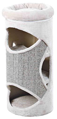 Trixie 43376 Cat Tower Gracia, 85 cm, lichtgrau/grau-meliert