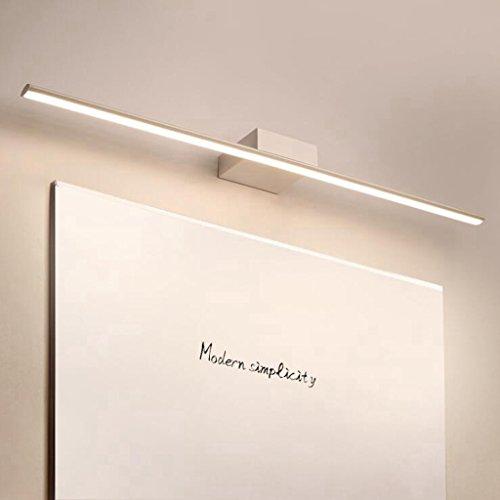 BiuTeFang LED Spiegelleuchte 20W Badlampe Spiegel Spiegellampe Beleuchtung Spiegelschrank Bad Spiegellampe Wandleuchte 100CM Weiß
