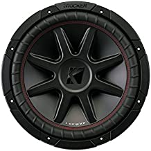 "Kicker 12"" 800 Watt CompVR 4 Ohm DVC Sub Woofer Car Power Subwoofer 