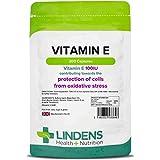 Lindens Vitamina E 100IU Cápsulas Pack 200 Potente Antioxidante que Contribuye hacia el Protección...