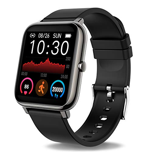 Donerton Smart Watch, Fitness Tracker 1.4 for Android...