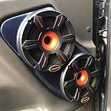 Custom Speaker Pods Dual 6.5' Front Door 2000-2006 Chevrolet Tahoe, Suburban, Silverado, Sierra, Yukon Stereo System Upgrade Installation