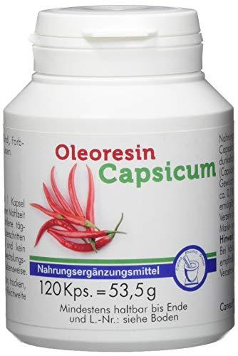 Pharma-Peter OLEORESIN Capsicum Kapseln, 120 Kapseln