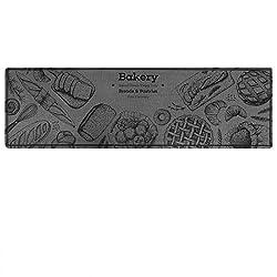 Carvapet Bakery Design Non-Slip Kitchen Rug