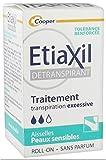 Etiaxil Détranspirant Aisselles Peaux Sensibles Roll-On 15 ml