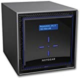 NETGEAR NAS ディスクレス 4ベイ 最大接続目安40台 アンチウィルス クラウド対応 ReadyNAS 424 RN424