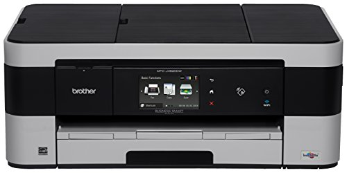 Brother MFC-J4620DW, All-in-One Color Inkjet Printer, Wireless Connectivity, Automatic Duplex Printing, Amazon Dash Replenishment Enabled