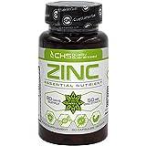 Citrato de zinc | 50mg x 80 cápsulas (Zinc de 15mg de citrato de zinc) | Suministro para 80 días | Suplemento de soporte del sistema inmunitario | Mantenimiento de la piel | por Cvetita Herbal