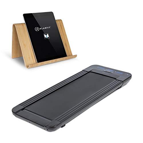 Klar Fit Workspace Go Light - Tapis Roulant, Porta Tablet, Tapis Roulant e Office Cardio, 350 W,...