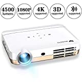 WOWOTO H9 Video Projector 400...