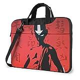 15.6″Durable Hombro Mensajero Bolsa maletín PC Avatar, el último Maestro del Aire Moda Impermeable Ordenador Portátil/portátil/Tablets