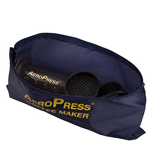 AeroPress Coffee and Espresso Maker with Tote Bag - Quickly Makes Delicious Coffee Without Bitterness - 1 to 3 Cups Per Press 10