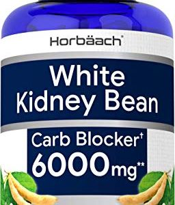White Kidney Bean Carb Blocker | 6000 mg 200 Capsules | Non-GMO & Gluten Free Extract | by Horbaach 8 - My Weight Loss Today