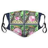 Mouth Cover Face Cover My Neighbor Totoros Bubblegum Studio Ghibli Resuable...