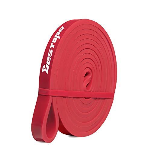 BESTOPE ST027R - Fascia di resistenza, per uomo e donna, taglia L, colore: rosso