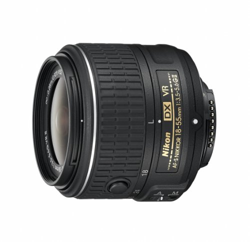 Nikon AFSDXVR18-55G2 - Objetivo, Color Negro