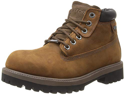 Skechers Men's Verdict Men's Boot,Dark Brown,12 US