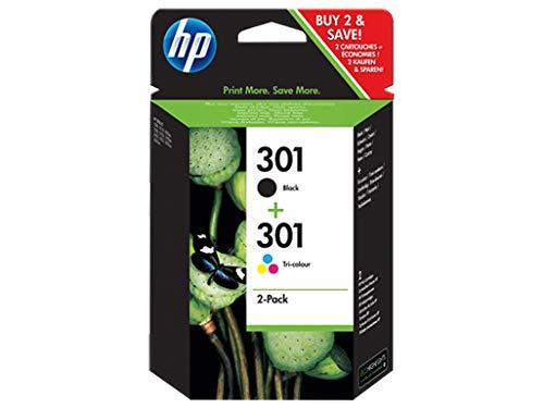 HP N9J72AE Cartucce Originali, 355 Pagine, per Stampanti a Getto di Inchiostro HP DeskJet 1050,...