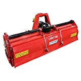 Titan Attachments Lightweight Rotary Tiller 72' Category 1 & 2 3-Point Hitch