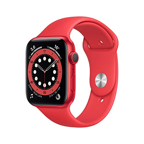 AppleWatch Series6 (GPS, 44 mm) Caja de aluminio (PRODUCT)RED - Correa deportiva (PRODUCT)RED