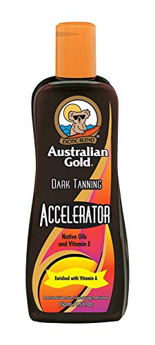 Australian Gold Bronze Accelerator Natural Dark Crema Autobronceante - 250 ml