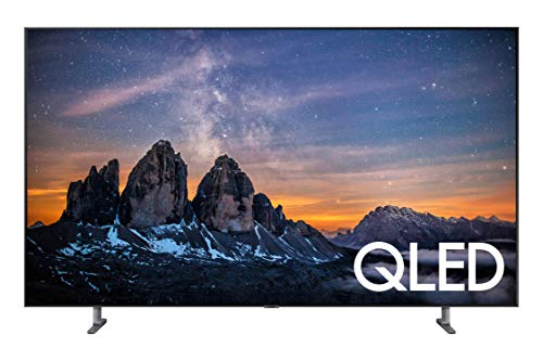 Samsung QN65Q80RAFXZA Flat 65-Inch QLED 4K Q80 Series Ultra HD Smart TV with HDR and Alexa Compatibility (2019 Model)