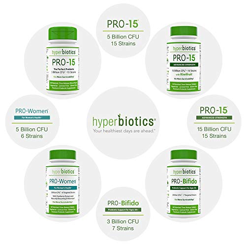 Hyperbiotics PRO-15 Probiotics—60 Daily Time Release Pearls— Digestive Supplement Formula—15x More Survivability Than Capsules—Patented Delivery Technology—Easy to Swallow 5