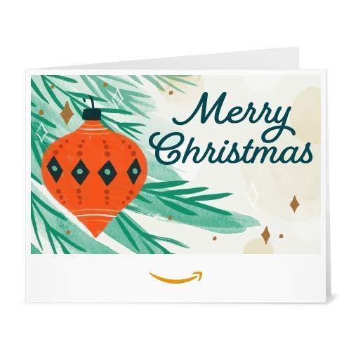 Amazon Gift Card - Print - Holiday Ornament