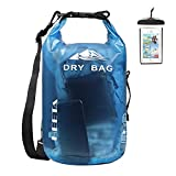 HEETA Waterproof Dry Bag for Women Men, Roll Top Lightweight Dry Storage Bag Backpack with Phone...