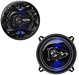 BOSS Audio Systems BE524 5.25 Inch Car Speakers - 225 Watts of Power Per Pair, 112.5 Watts Each, Full Range, 4 Way, Sold in Pairs
