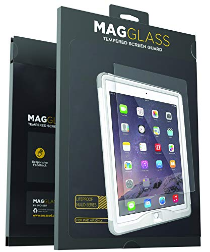 Magglass Custom Screen Protector for Lifeproof Nuud Case (iPad Air 2) Tempered Glass Only, Case Not Included