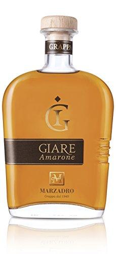 Marzadro Grappa Giare Amarone riserva 41% vol - 700 ml