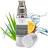 Suero Vitamina C Para la Cara con Acido Hialuronico para un Efecto Visibile Anti Etad, Riduciendo...