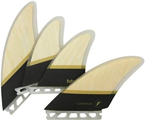 FUTURES. FIN ショートボード用フィン BAMBOO CONTROLLER QUAD(CONTROLLER,RTMHEX/BAMBOO)