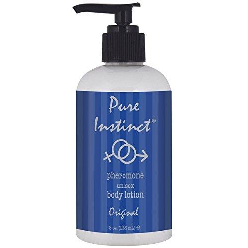 Pure Instinct Pheromone Unisex Body Lotion, Original Scent, 8 Fluid Ounce