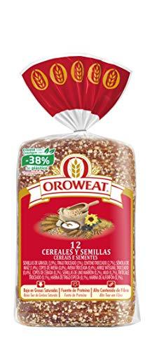 Oroweat - Pan de Molde Integral 12 Cereales Y Semillas 18 Re
