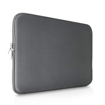 "Olixar 11"" Laptop and Tablet Sleeve - Slim Neoprene Case - Water Resistant Protective Case - Shock Absorption - Universal Compatibility (Grey)"