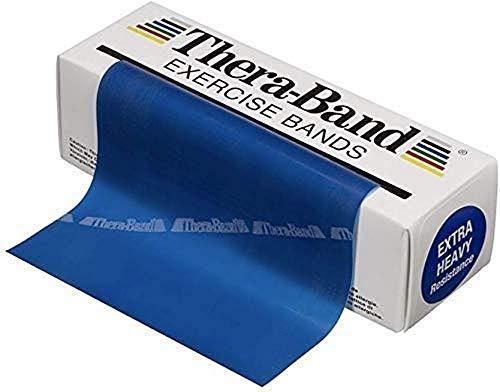 Thera-Band, Fascia elastica per esercizi, Blu, 5.5 m