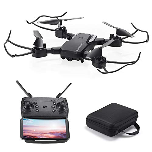 Powerextra Mini Drone con Videocamera per Bambini e Adulti - Giroscopio a 6 Assi Quadricottero RC...