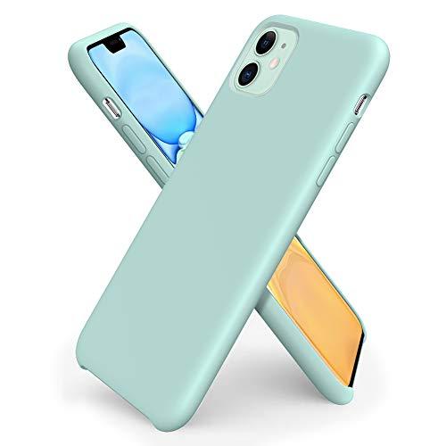 ORNARTO Funda Silicone Case para iPhone 11, Carcasa de Silicona...