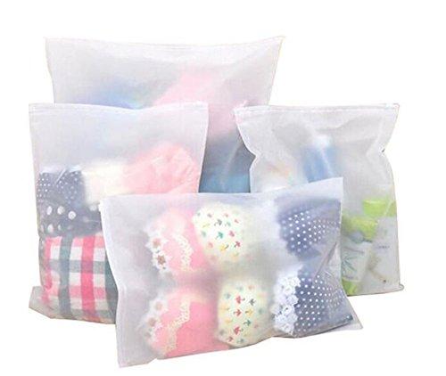 Sac de rangement en plastique étanche pour sacs d'emballage de voyage,...
