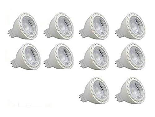 CYLED LED電球 MR16口金 50W形ハロゲン相当(5W) 電球色 3000K 450lm 12V LEDスポットライト 10個セット